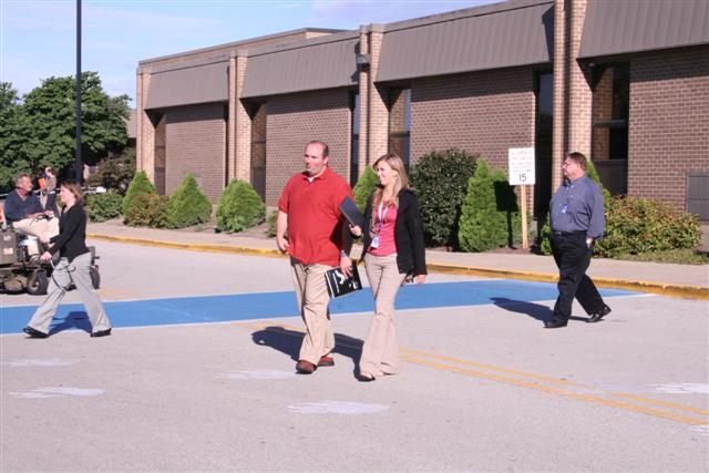 Teachers improve fire drill attendence procedures