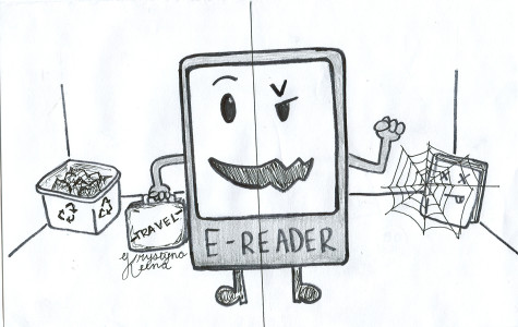 E-readers make reading convenient