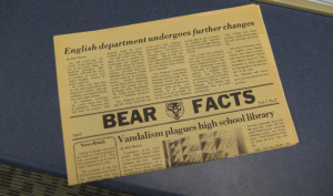 Bear Facts Flashback: The Great American Smoke Out