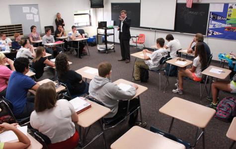 State Senator Dan Duffy visits LZHS