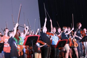 District 95 Orchestras rock out in the PAC