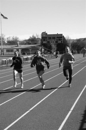 Track and field sprints into season