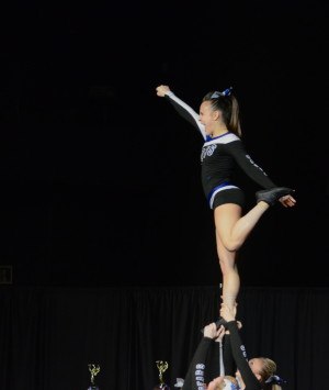 Cheerleading places at state