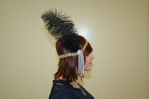 Getting ready for Gatsby: 4 easy steps to make a flapper headband