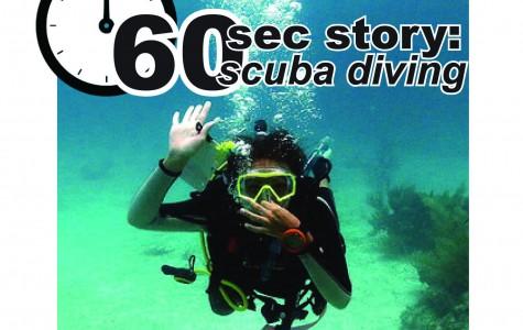 60 second story: scuba diving
