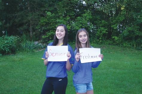 Senior vs freshman: sibling similarities and class comparisons