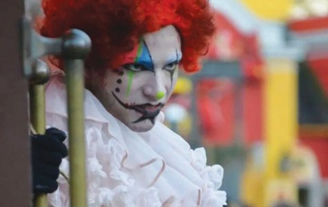 60 second story: student not just clowning around at Fright Fest