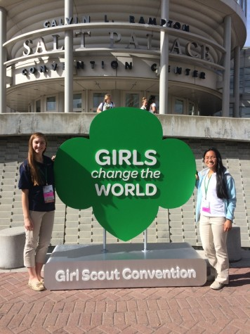 Student attends national Girl Scout convention