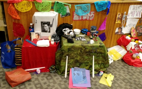 Spanish classes build ofrendas to celebrate Day of the Dead
