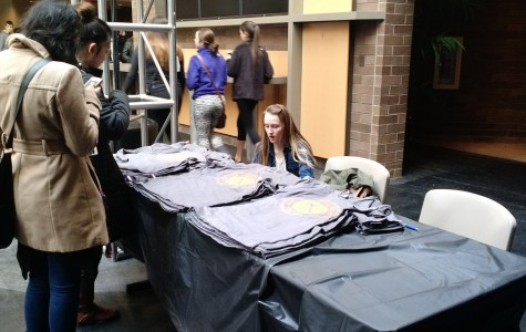 Students support other countries through donations, T-shirt sales