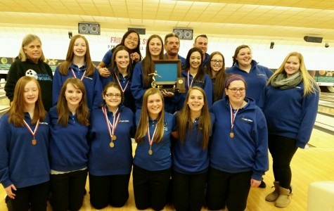 Girls' bowling keeps mental game strong after Conference win