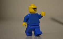 Student makes films brick by brick