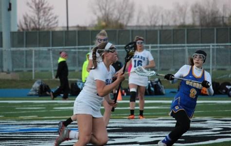 Girls' lacrosse storms ahead, beats Warren Blue Devils