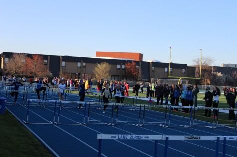 Girls' Track takes tenth place at County meet