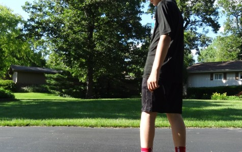 Frosh Friday: wrestling longboarder looks forward to tackling high school