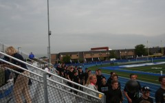 Student section makes grand entrance at first home game