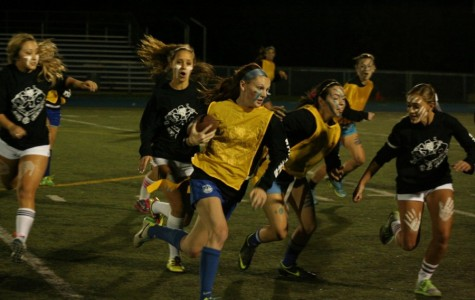 Behind the scenes of girl's football