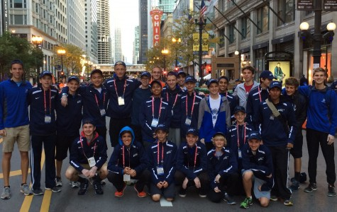 Cross country gives back, volunteers at Chicago Marathon