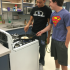 "Two seniors from kitchen six, Dante Manley (left) and Jerry Brown (right), are preparing for their week of ""Restaurant Week.""  Each of the kitchens in Mrs.Baker's fifth period Culinary Arts class has their own week to prepare their foods of their choice that they will serve to teachers on Friday."