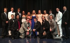 Eleven senior boys fight for the crown at Mr. LZ 2016