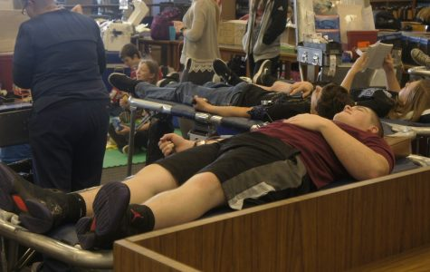 Student Council hosts blood drive, saves lives