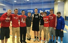 Successful fundraiser for ALS equals a successful win for boys Varsity Volleyball