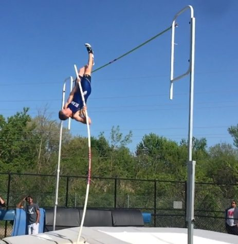 Flying high: junior pole vaulter goes into State competition with new school record