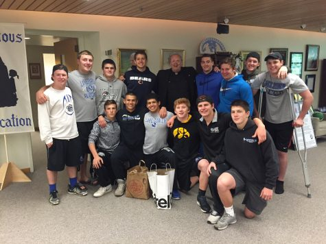 Football team out to tackle hunger