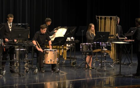 Band holds percussion concert that will sweep the audience off their feet