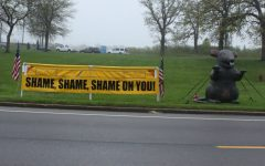 Union protest disrupts traffic outside school, raises questions