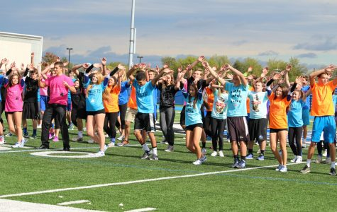 Assembly brings school together to celebrate Homecoming