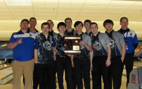 Boys bowling tournament against Grant high school