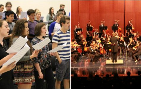 Choir and Orchestra unite in holiday concert