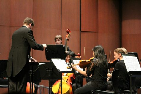 Strings, winds, and bells take the stage for holiday concert