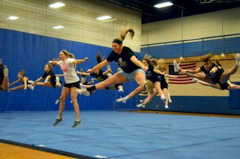 Bear Share: Varsity Softball attempts Varsity Cheer