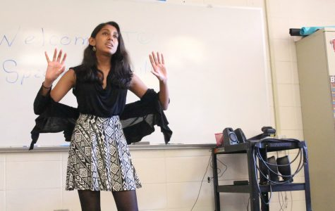 Speech and Acting team holds members-only showcase to share accomplishments