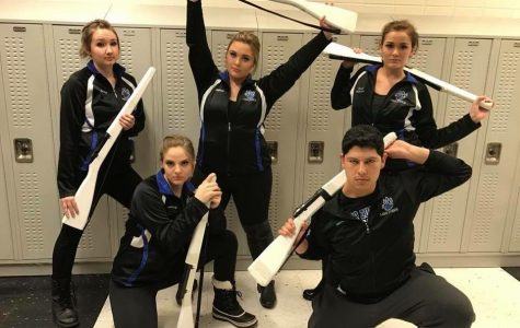 Winterguard wins first competition of the season