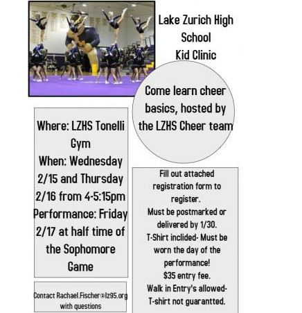 Cheer kids clinic will offer new skills to young cheerleaders
