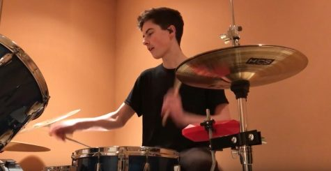 Playing to the Beat Of His Own Drum: Listen to this Senior's Musical Story