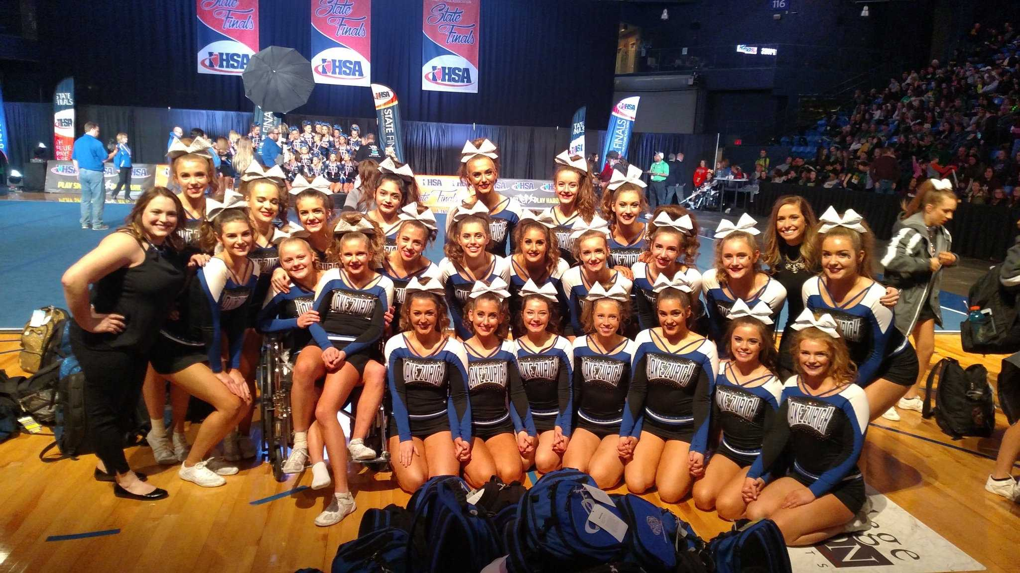 LZVC places seventh at State, though ending the weekend with an injured athlete.
