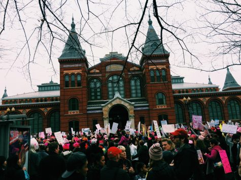 Women keep marching on