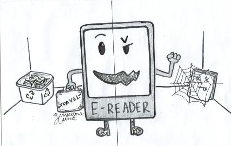 E-readers make reading convenient