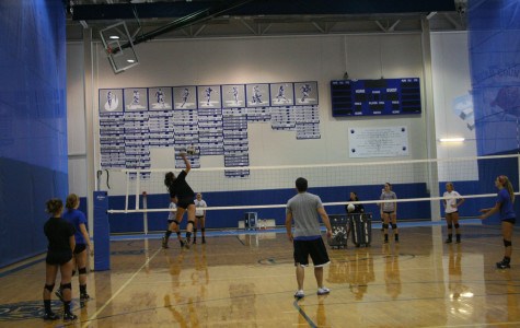 Girls' varsity volleyball returns with hopes to smash the competition