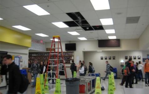 Cafeteria Ceiling Maintenance