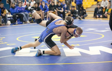 Boys' wrestling team pins down the competition