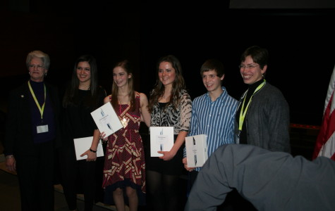 Lieutenant Governor awards students for Domestic Violence Awareness Contest