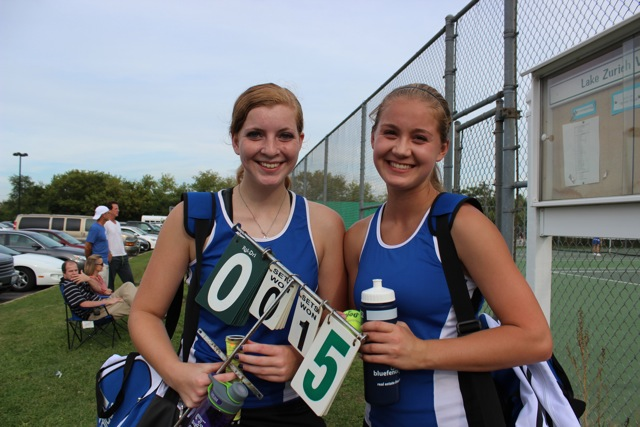 Girls' tennis doubles team starts season off well