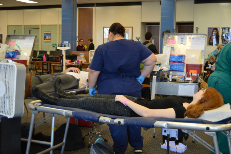 Student Council sponsors annual blood drive