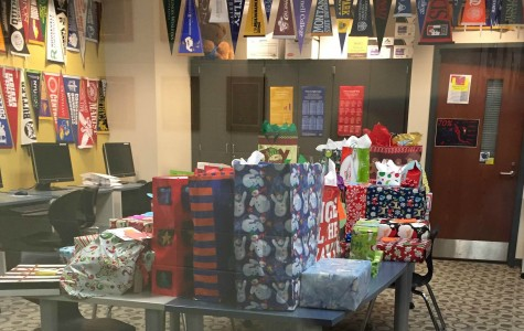 NHS members bring holiday spirit to the less fortunate