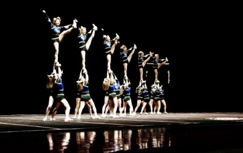 Varsity Cheerleading competes at Sectional to qualify for State